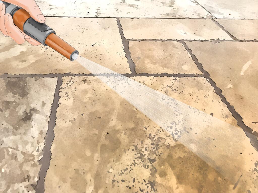 Clean Sandstone Step 17