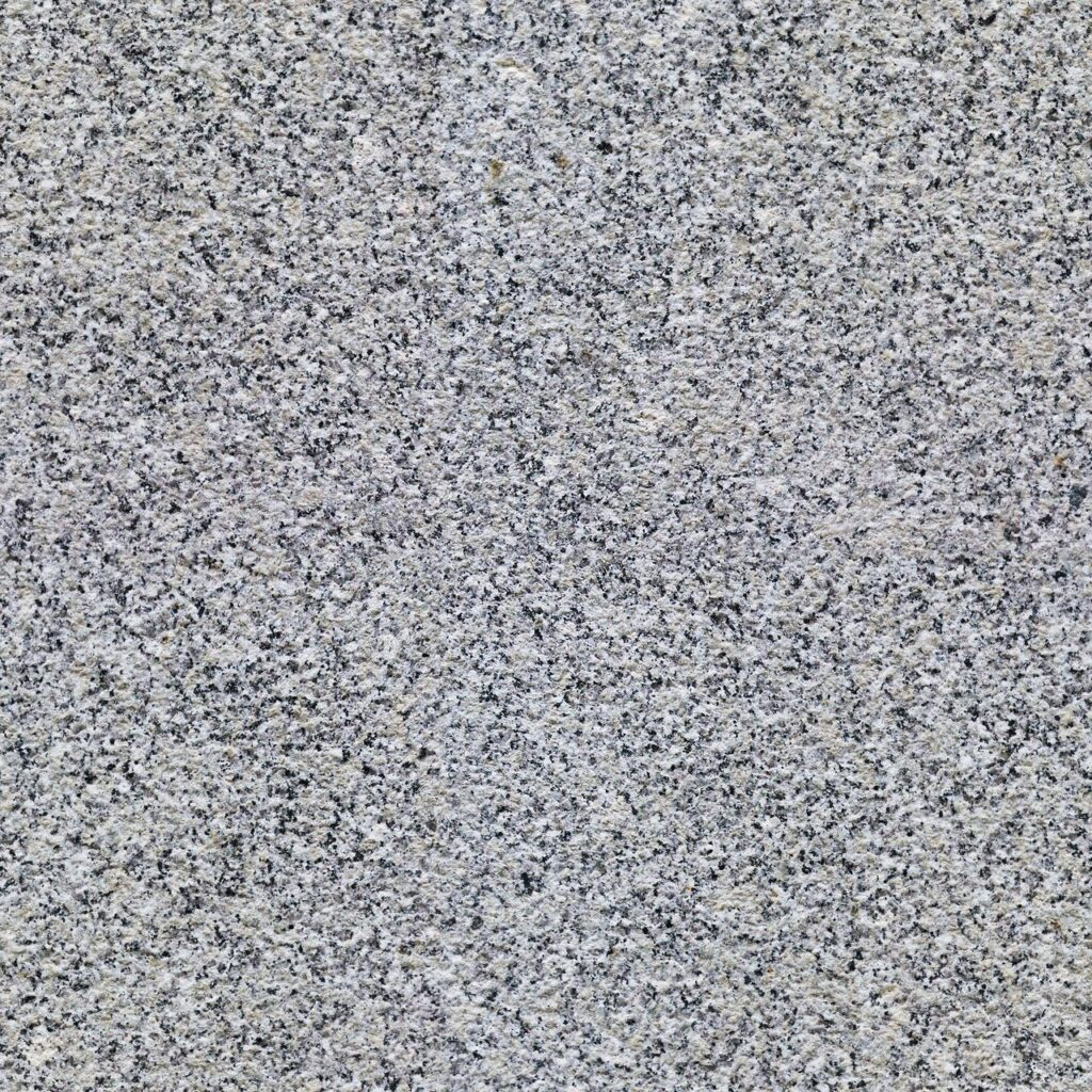 Honed Finish White Granite