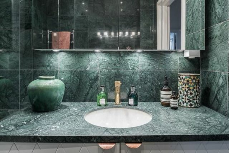 1557740905 649 Green marble a modern luxury solution for bathroom and kitchen