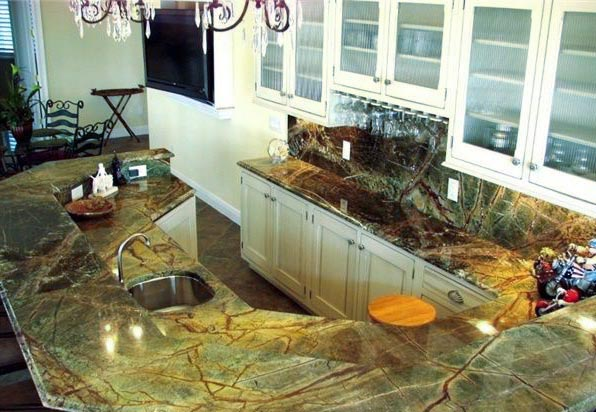 rainforest green marble countertop p168035 1b