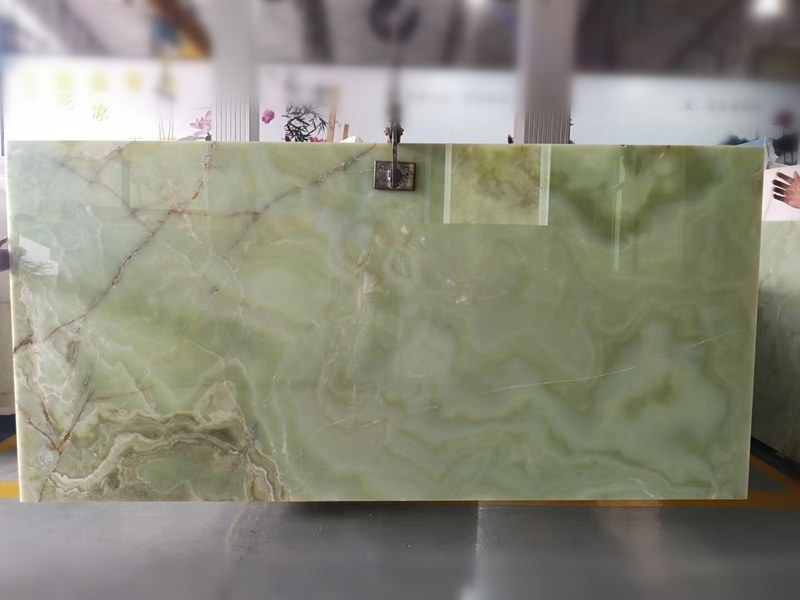 Marble Slabs Stone Olive Green Onyx for Bathroom Flooring Floor Tile Background Wall Tiles Countertop Workbench Vanity Table Top Home Decoration