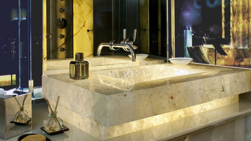 backlightened marble sink by dedalo stone 800x450 1